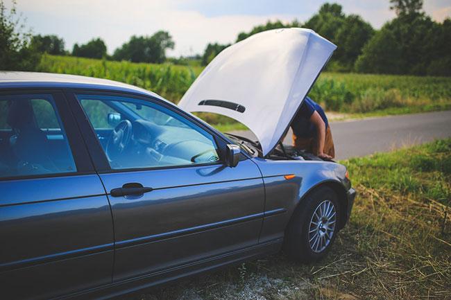 Zepsuty samochód